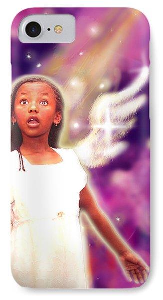 Diamond.angelic 3 IPhone Case