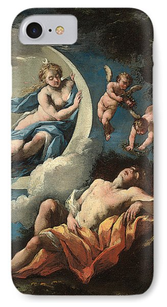 Diana And Endymion IPhone Case by Michele Rocca