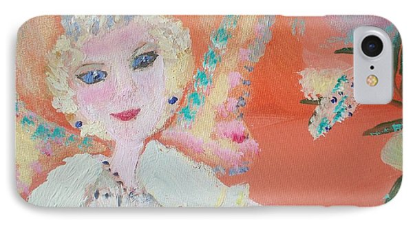 Diana Fairy Charity IPhone Case by Judith Desrosiers
