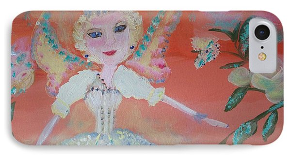 Diana Healing Fairy IPhone Case by Judith Desrosiers