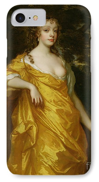 Diana Kirke-later Countess Of Oxford Phone Case by Sir Peter Lely