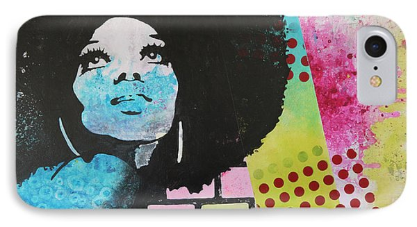 Diana Ross IPhone Case
