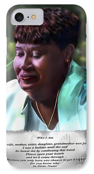 Diane E. Seymour Phone Case by Reggie Duffie