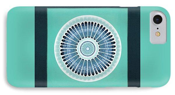Diatom Mandala, Arachnoidiscus IPhone Case