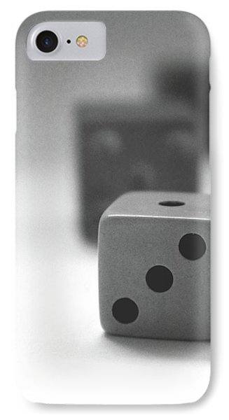 Dice 2- By Linda Woods IPhone Case