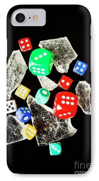 Dicing With Chance IPhone Case by Jorgo Photography - Wall Art Gallery