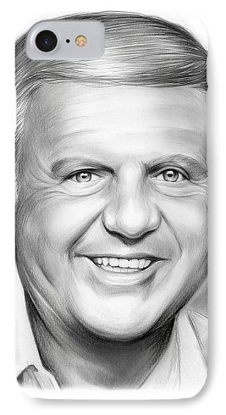 Dick Van Patten IPhone Case by Greg Joens