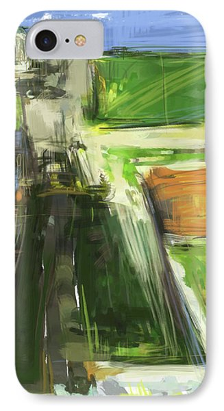Diebenkorn Homage IPhone Case by Russell Pierce