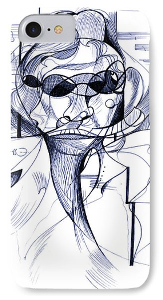 Diego At The Door Phone Case by Nicholas Burningham