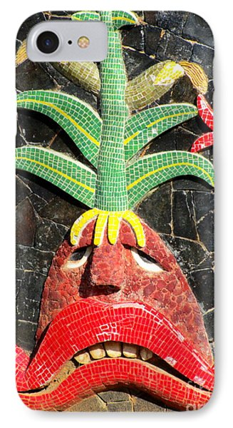 Diego Rivera Mural 5 IPhone Case by Randall Weidner