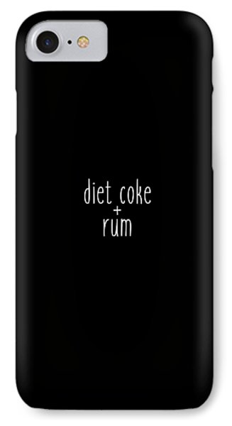Diet Coke And Rum IPhone 7 Case