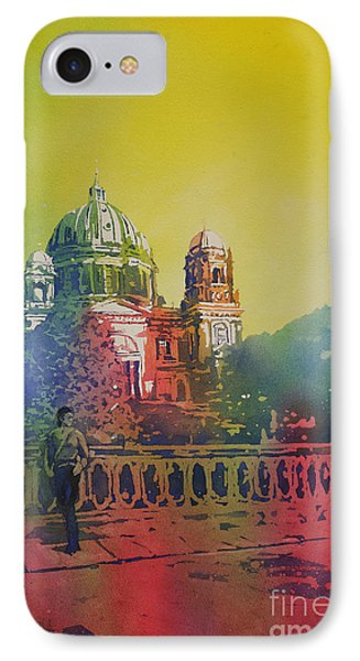 Different Look On The Berlin Cathedral IPhone Case by Ryan Fox