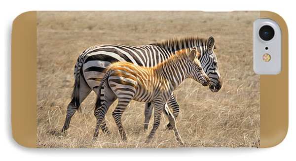 Different Stripes IPhone Case by Alice Cahill