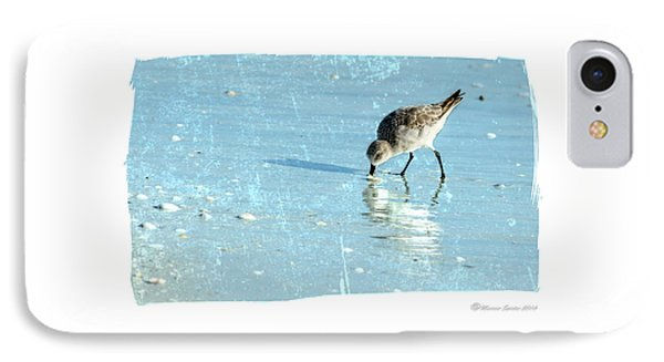 Sandpiper iPhone 7 Case - Dig In by Marvin Spates