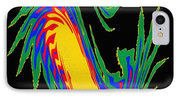 Digital Art 10 IPhone Case by Suhas Tavkar