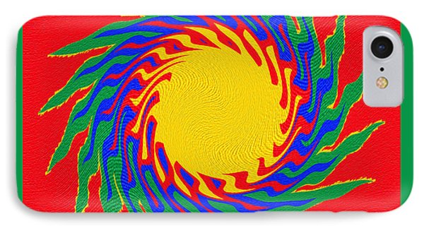Digital Art 8 IPhone Case