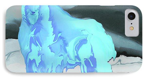 IPhone Case featuring the digital art Digital Mountain Goat 2 by Kae Cheatham