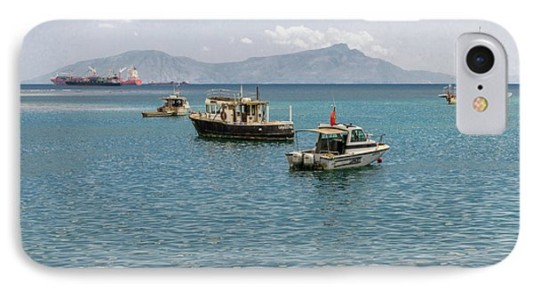 IPhone Case featuring the photograph Dili Harbour 01 by Werner Padarin