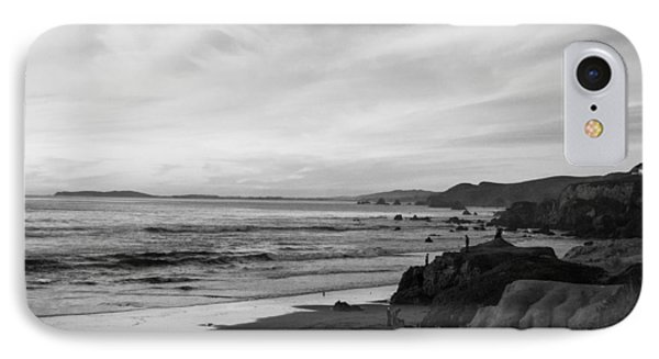 Dillon Beach Sunset Black And White IPhone Case