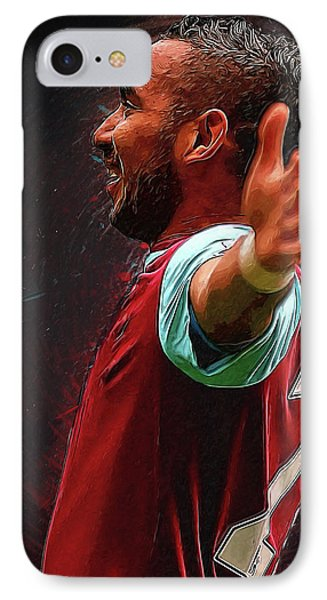 Dimitri Payet IPhone Case by Semih Yurdabak