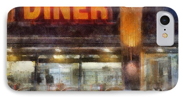 Diner Phone Case by Francesa Miller