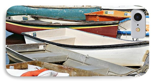 Dinghys At Bearskin Neck IPhone Case by Joe Faherty