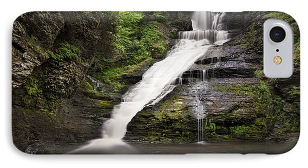 IPhone Case featuring the photograph Dingmans Falls by Yelena Rozov