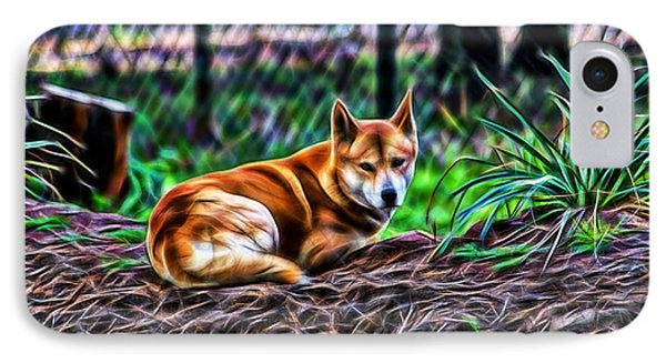 Dingo From Ozz IPhone Case by Miroslava Jurcik