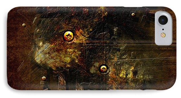 IPhone Case featuring the digital art Dingy by Alexa Szlavics