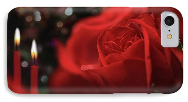 Dinner And Roses IPhone Case