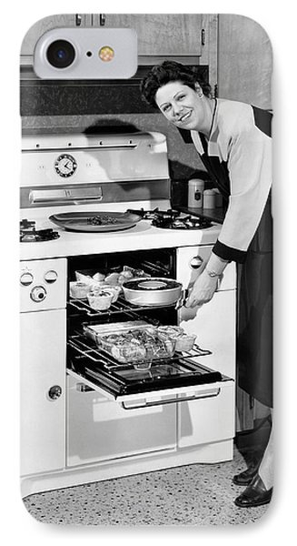 Dinner In The Oven IPhone Case