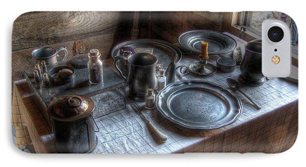 Dinner Is Served Phone Case by Jane Linders