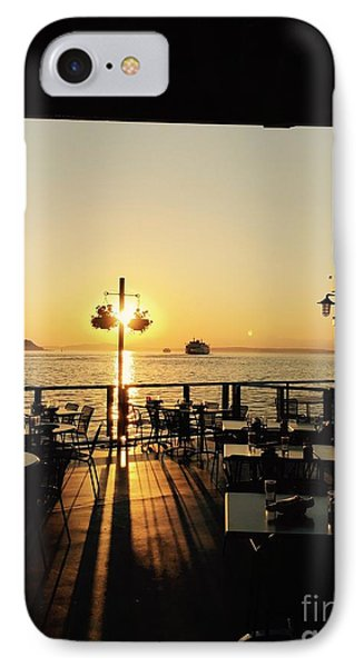 Dinner On The Water IPhone Case