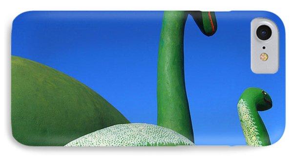 Dinosaur Walk  IPhone Case by Mike McGlothlen