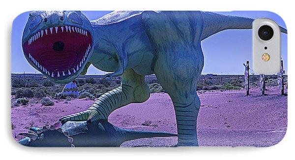 Dinosaur With Kill IPhone Case