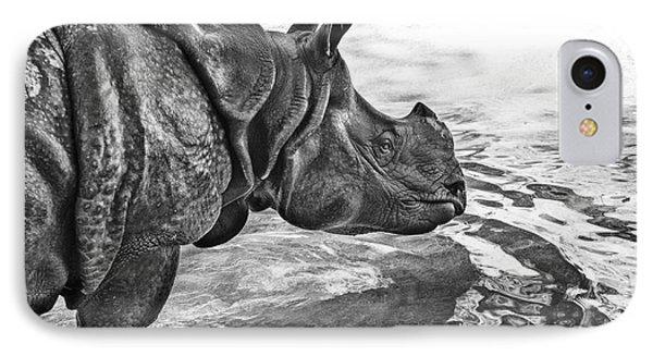 Dip In The Pool IPhone Case by Jamie Pham