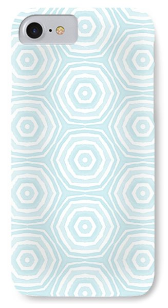 Beverly Hills iPhone 7 Case - Dip In The Pool -  Pattern Art By Linda Woods by Linda Woods
