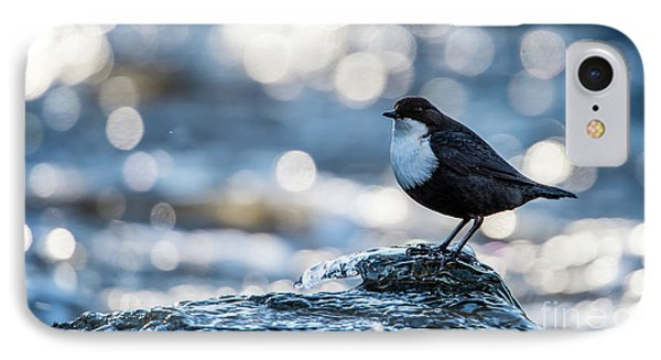 IPhone Case featuring the photograph Dipper On Ice by Torbjorn Swenelius