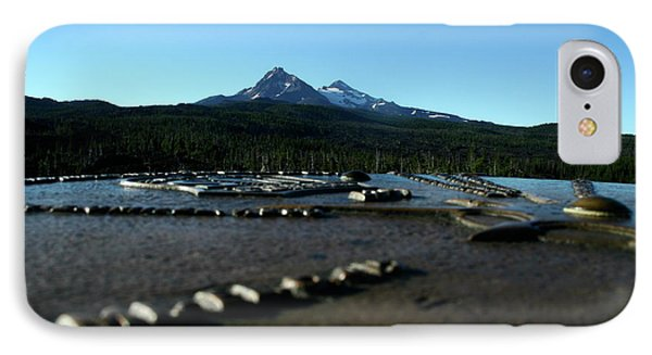 IPhone Case featuring the photograph Directional Points by Laddie Halupa