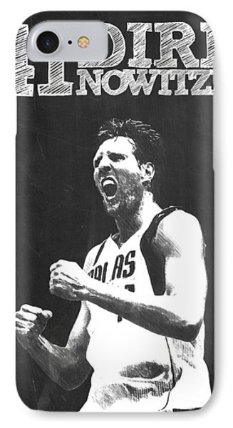 Dirk Nowitzki IPhone Case