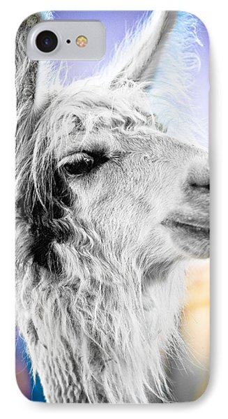 Dirtbag Llama IPhone Case by TC Morgan