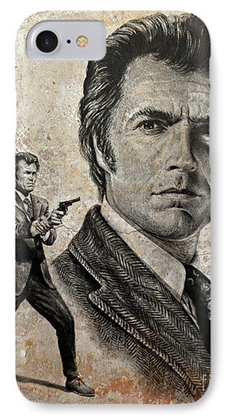 Dirty Harry  Make My Day Version IPhone Case by Andrew Read