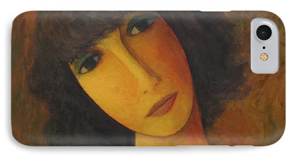 IPhone Case featuring the painting Disbelieving by Glenn Quist
