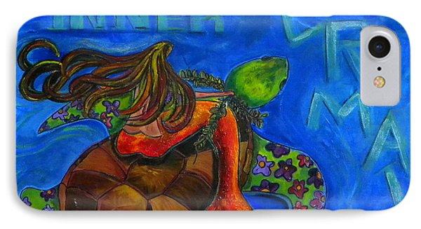 Discover Your Inner Mermaid Phone Case by Patti Schermerhorn