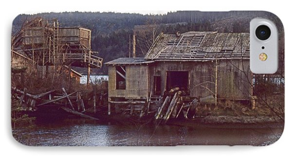 IPhone Case featuring the photograph Discovery Bay Mill by Laurie Stewart