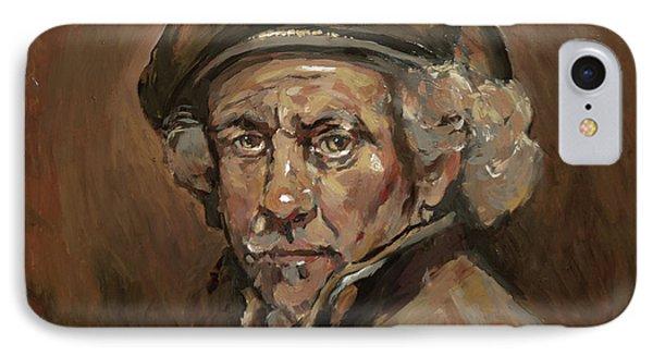 Disguised As Rembrandt Van Rijn IPhone Case