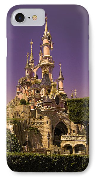 Disney Castle Paris IPhone Case