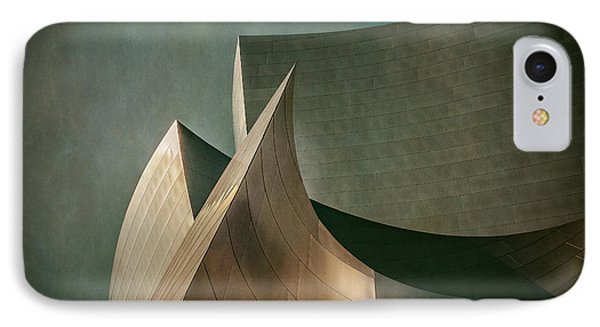 Disney Concert Hall IPhone Case by James Howe