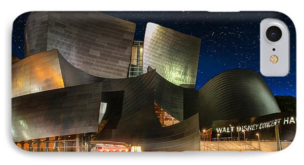 Disney Concert Hall IPhone Case by Robert Hebert