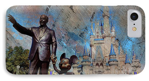Disney World IPhone Case by Gull G